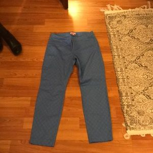 Lilly Pulitzer skinny ankle pants